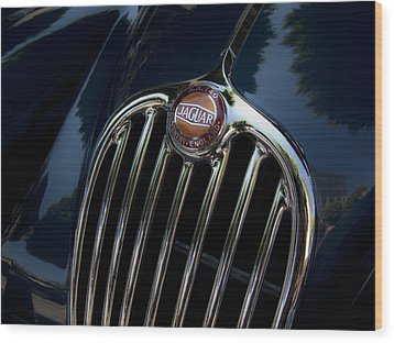Jaguar Xk140 Wood Print