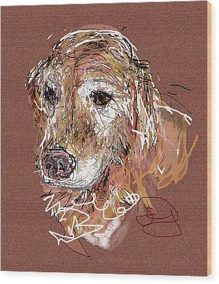 Jake Boy Wood Print