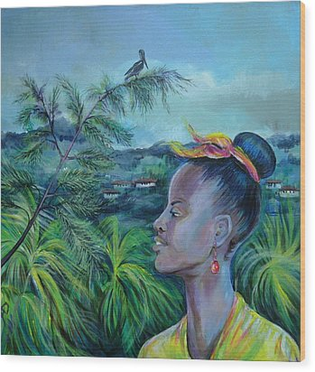 Jamaica. Part Two Wood Print by Anna  Duyunova