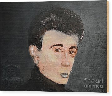James Dean Wood Print by Alys Caviness-Gober