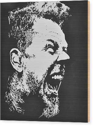 James Hetfield Wood Print