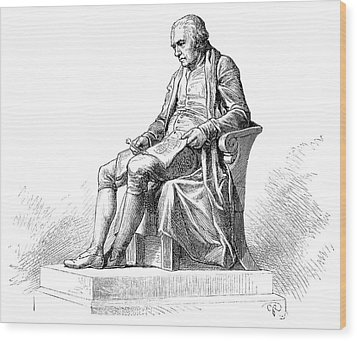 James Watt Wood Print by Science Photo Library