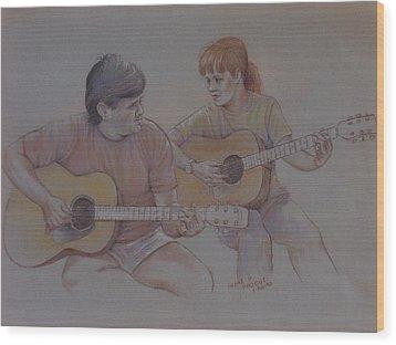 Jamin Wood Print by Duane R Probus