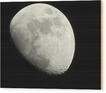 January Moon 1 Wood Print