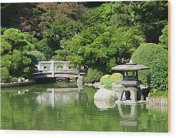 Wood Print featuring the photograph Japanese Friendship Garden by Cindy McDaniel