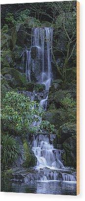 Japanese Garden Serenity 2 Wood Print