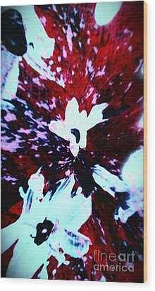 Wood Print featuring the painting Jasmine In My Mind  by Jacqueline McReynolds