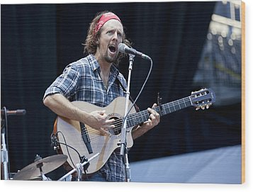 Wood Print featuring the photograph Jason Mraz by Shawn Everhart
