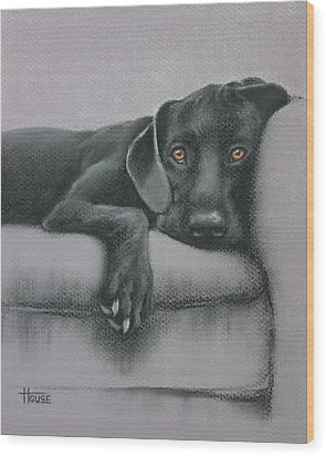 Jasper Wood Print by Cynthia House