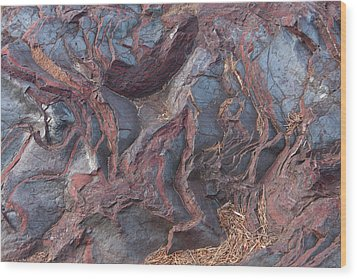 Jaspilite Wood Print