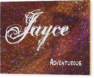 Jayce - Adventurous Wood Print by Christopher Gaston
