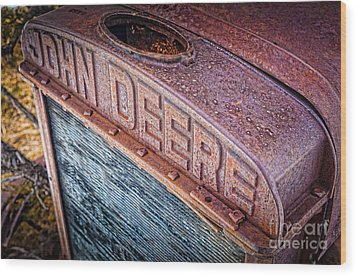 Jd Grille Wood Print by Inge Johnsson