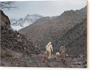 Jebel Toubkal Wood Print by Daniel Kocian
