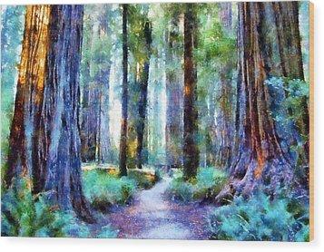 Jedediah Smith Grove Wood Print by Kaylee Mason