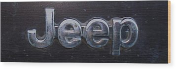 Wood Print featuring the photograph Jeep by J L Zarek