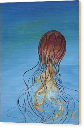 Jelly Wood Print by Anthony Cavins