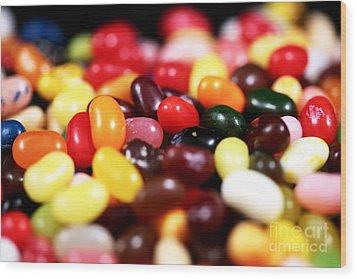 Jelly Beans Wood Print by John Rizzuto