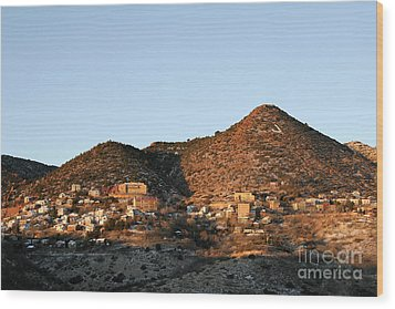 Jerome Arizona At Sunrise Wood Print