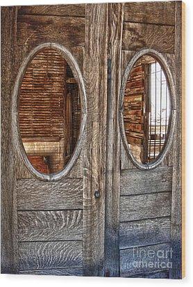 Jerome Arizona - Saloon Wood Print by Gregory Dyer