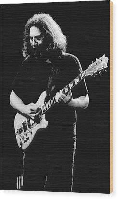 Jerry Garcia In Cheney 1978 Wood Print