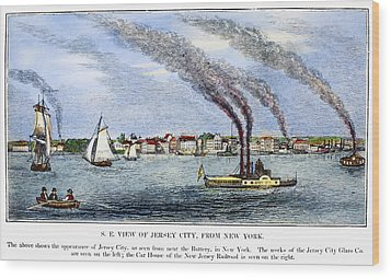 Jersey City, 1844 Wood Print by Granger