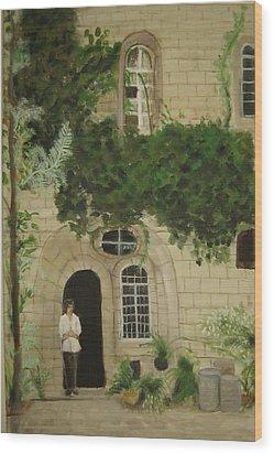Jerusalem Wood Print by Anavit Lavi