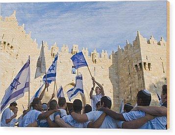 Jerusalem Day Wood Print by Kobby Dagan