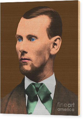 Jesse James 20130515 Wood Print by Wingsdomain Art and Photography