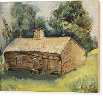 Jesse James Home 1940 Wood Print