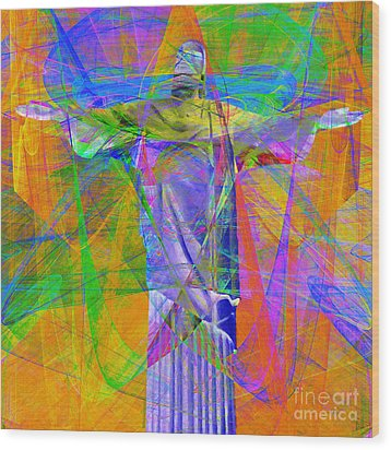 Jesus Christ Superstar 20130617 Square Wood Print by Wingsdomain Art and Photography