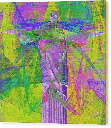 Jesus Christ Superstar 20130617p32 Square Wood Print by Wingsdomain Art and Photography