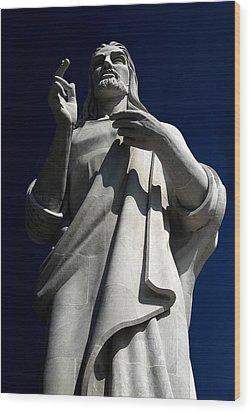 Jesus II Wood Print