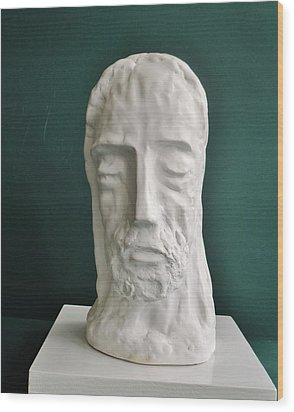 Jesus In Prayer 2014 Wood Print