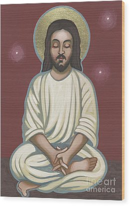 Jesus Listen And Pray 251 Wood Print by William Hart McNichols