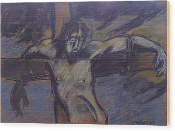 Jesus Remember Me Wood Print by Todd  Peterson