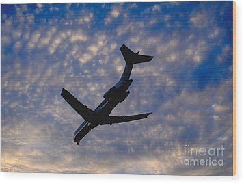 Jet Take Off Wood Print by Will and Deni McIntyre