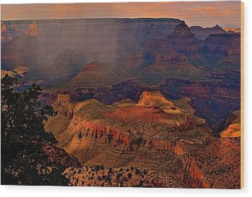Jewel Of The Grand Canyon Wood Print
