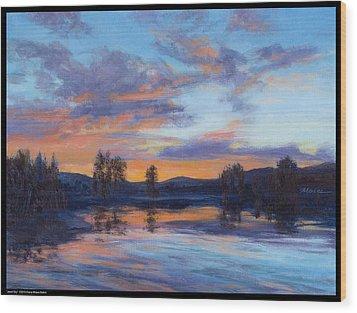 Jewel Sky Wood Print