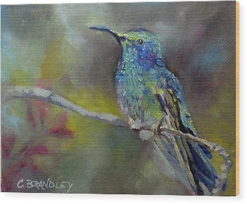 Jewels Of Nature Wood Print by Chris Brandley