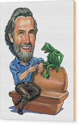 Jim Henson Wood Print by Art