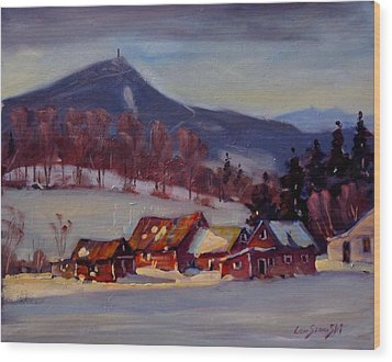 Jimmie's Place Wood Print by Len Stomski