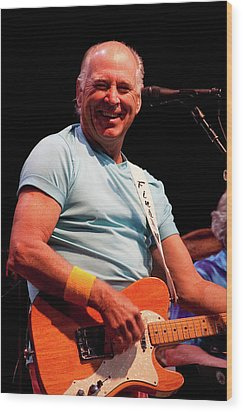 Jimmy Buffett 5626 Wood Print by Timothy Bischoff