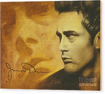 Jimmy Dean Wood Print