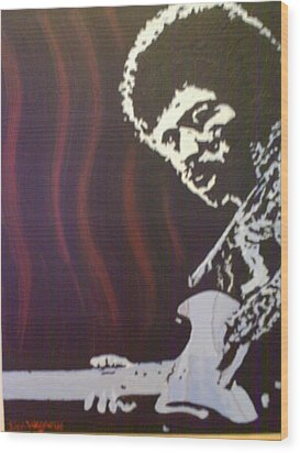Jimmy Has Soul Wood Print