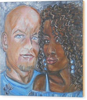 Joe And Jess Wood Print
