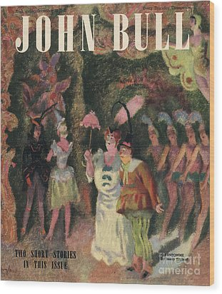 John Bull 1946 1940s Uk Pantomimes Wood Print by The Advertising Archives