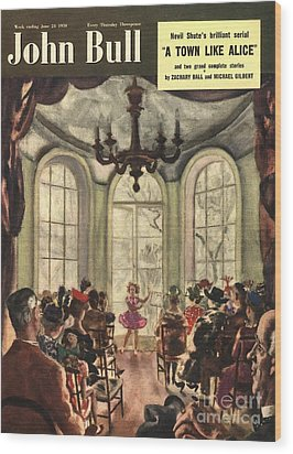 John Bull 1950s Uk Ballet Recitals Wood Print by The Advertising Archives