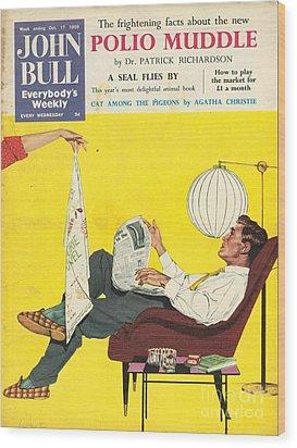 John Bull 1950s Uk Dish Washing Wood Print by The Advertising Archives