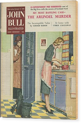 John Bull 1959 1950s Uk Cooking Wood Print by The Advertising Archives