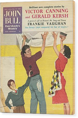 John Bull 1959 1950s Uk Decorating Diy Wood Print by The Advertising Archives